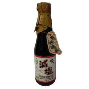 Organic Black Beans Sauce (light Less Salt)