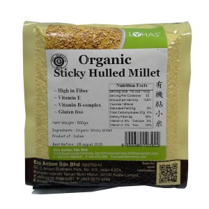 Organic Sticky Hulled Millet