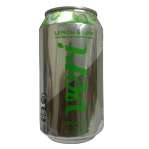 Organically Flavoured Soda Lemon & Lime