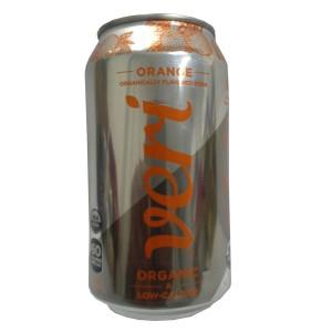 Organically Flavoured Soda Orange