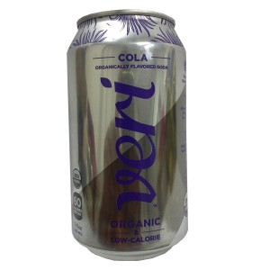 Organically Flavoured Soda Cola