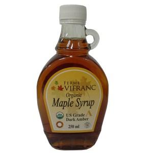 Ferme Vifranc Organic Maple Syrup Us Grade A