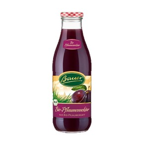 Bauer Bio Plum Nectar Juice