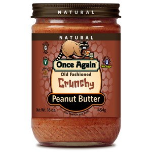 Old Fashioned Natural Peanut Butter Crunchy with Salt