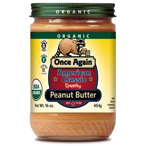 Organic American Classic Peanut Butter Crunchy