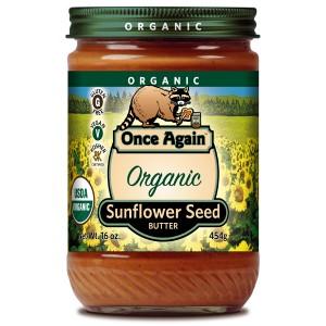 Organic Sunflower Butter with Sugar and Salt