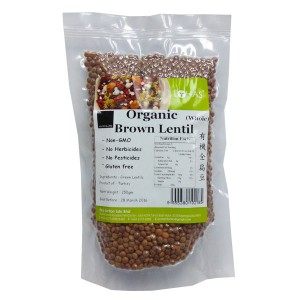 Organic Brown Lentil (whole)