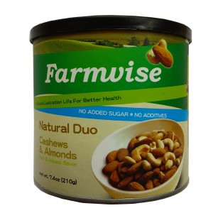 Farmwise Natural Duo Cashews & Almonds