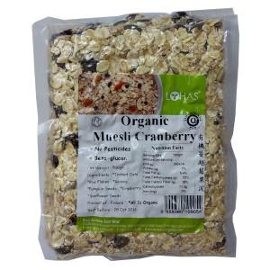 Organic Muesli Cranberry