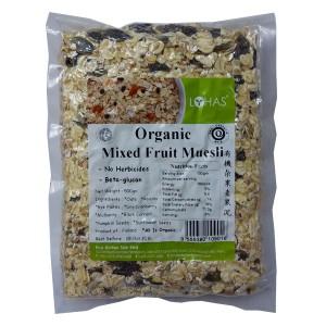Organic Mixed Fruit Muesli