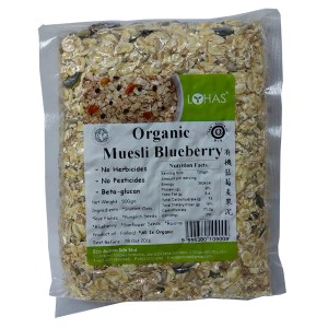 Organic Muesli Blueberry