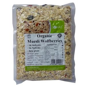 Organic Muesli Wolfberries