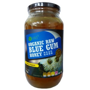Organic Raw Blue Gum Honey