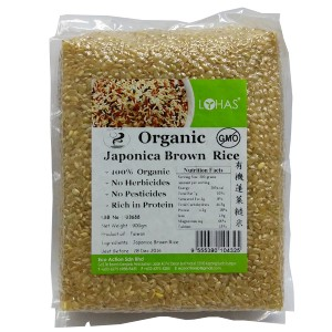 Organic Japonica Brown Rice