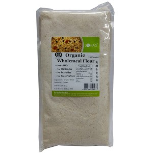 Organic Wholemeal Flour (Hi Protein) 1kg