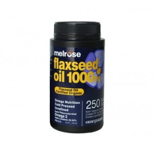 Organic Flaxseed Oil (Capsules)