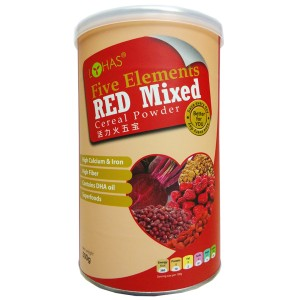 LOHAS Five Elements Red Mixed Cereal Powder