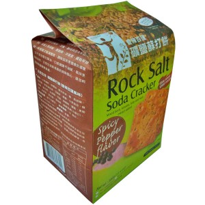 Rock Salt Soda Cracker (Spicy Pepper Flavor)