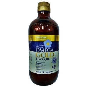 Melrose - Organic Omerga Gold Flax Oil