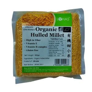 Organic Hulled/Sweet Millet