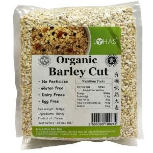 Organic Barley Cut