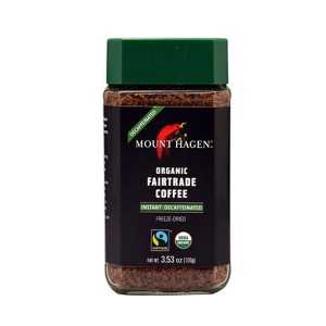 Mount Hagen Organic Fair Trade Instant Coffee Decaffeinated